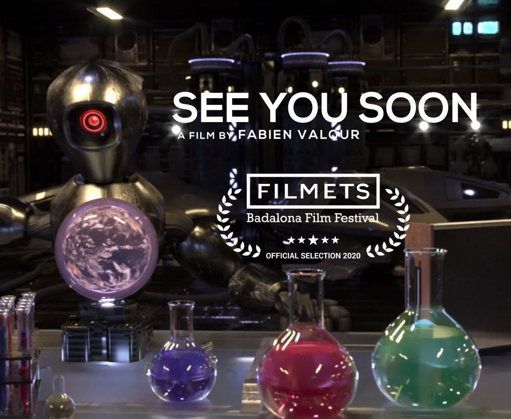 """FILM D'ANIMATION 3D  """"SEE YOU SOON"""""""