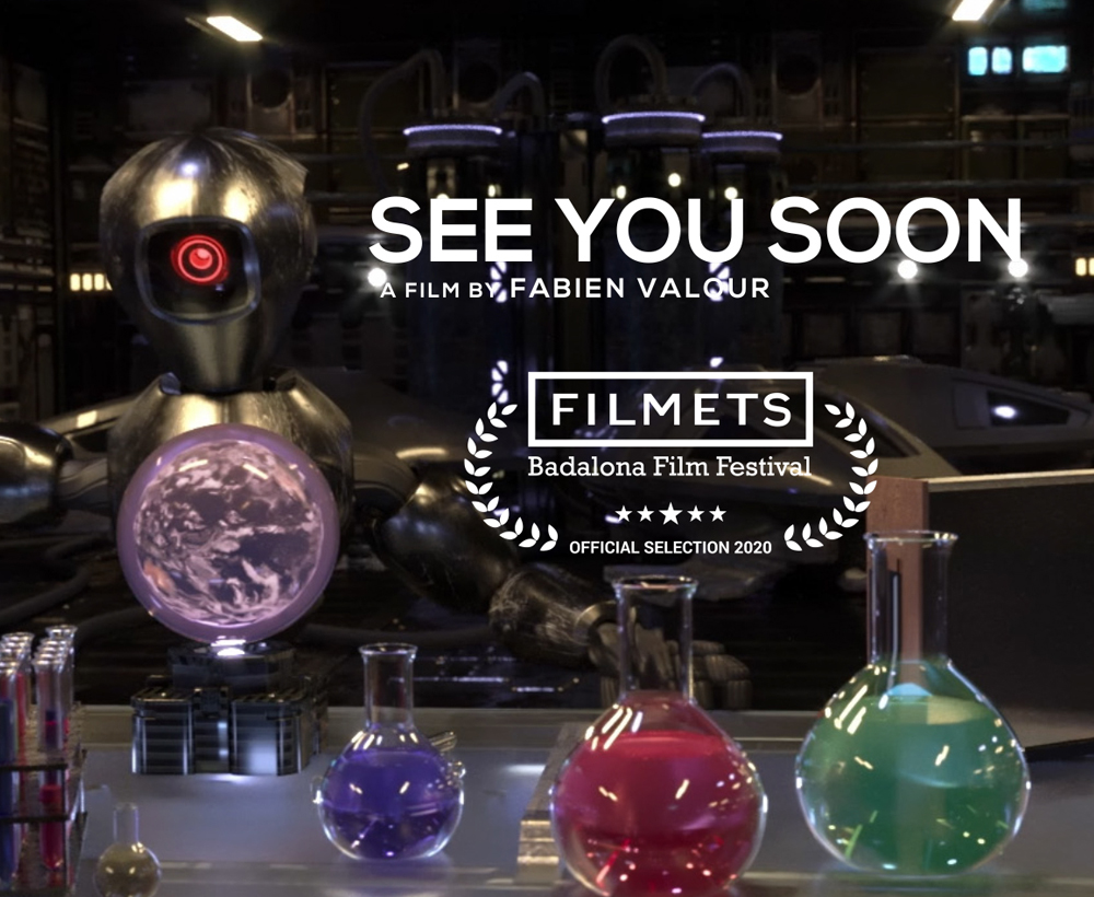 "FILM D'ANIMATION 3D  ""SEE YOU SOON"""
